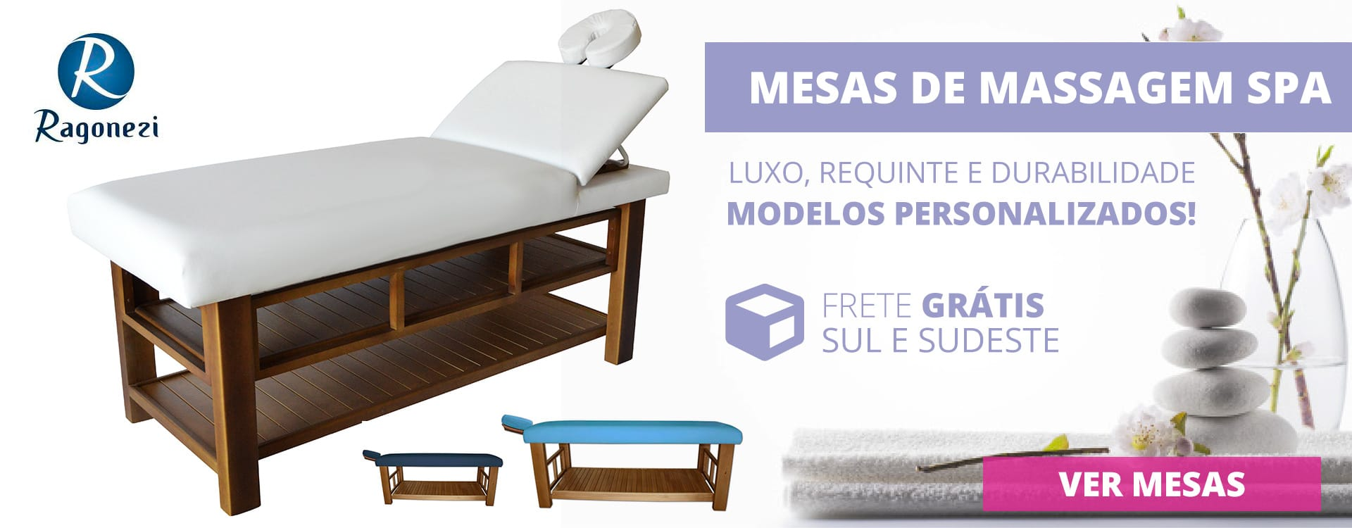Mesas de Massagem