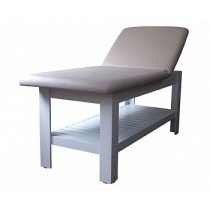 Maca / Mesa de Massagem SPA SHELF Reclinável Branca - BELTEX -