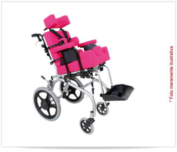 Cadeira de Rodas Adaptada Relax - Vanzetti